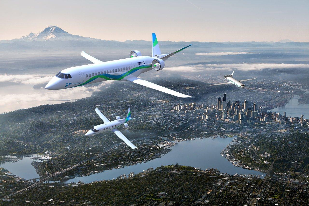 Zunum aero el-fly